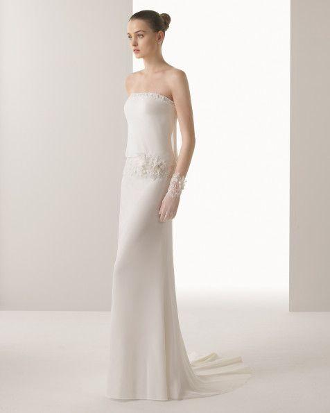 2015 Collection - Isabel vestido del novia soft Rosa Clara