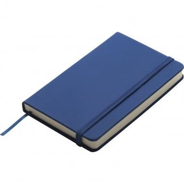 Promotional PU Soft feel A6 Notebook in Blue - Full colour digital printing :: Promotional Notebooks :: Promo-Brand :: Promotional Products l Promotional Items l Corporate Branding l Branded Merchandise