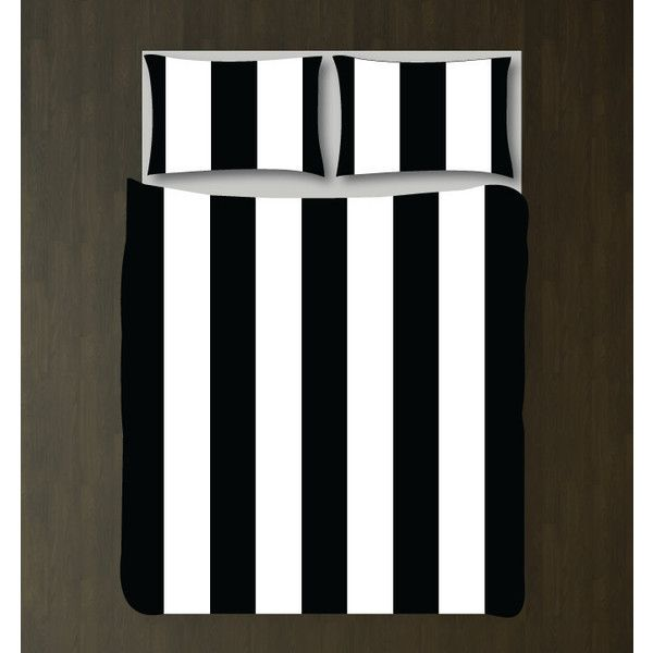 Classic Vertical Striped Bedding Set-Custom Duvet Cover-Shams-Black... ($130) ❤ liked on Polyvore featuring home, bed & bath, bedding, duvet covers, grey, home & living, twin xl bed sets, twin extra long bedding sets, twin xl bedding sets and king size bedding ensembles