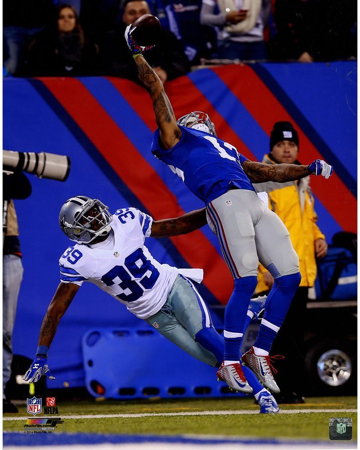 Odell Beckham Jr. One-Handed Catch Vertical 16x20 Photo (PF #AARM177)