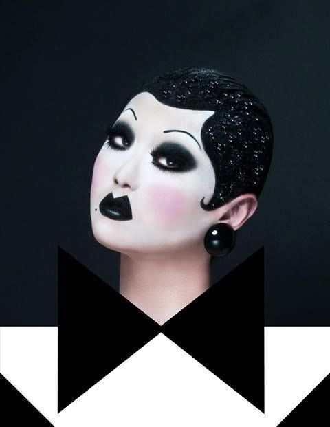 Kim Chi by Adam C Ouahmane. I would KILL to do this cosplay - It's both Kim and Courtney!