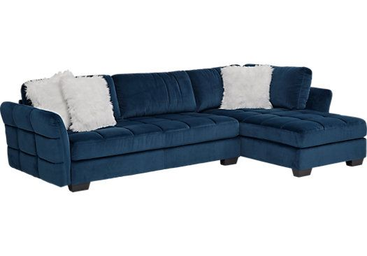 picture of Largo Drive Indigo 2 Pc Sectional from Living Room Sets Furniture