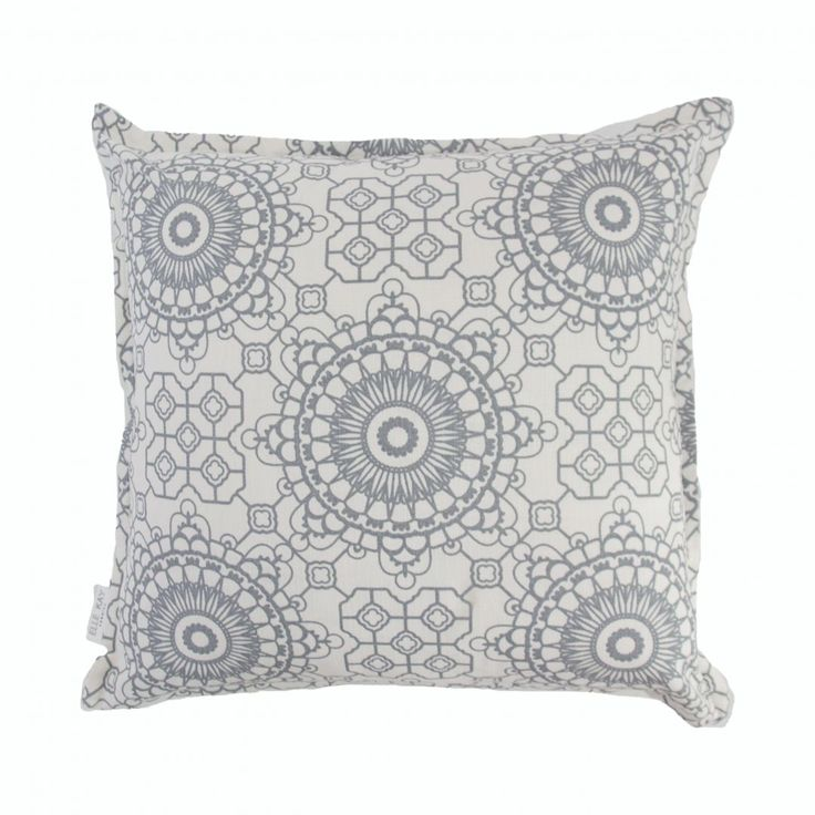 Elle Kay Fabrics Mosaic Graphite Scatter Cushion