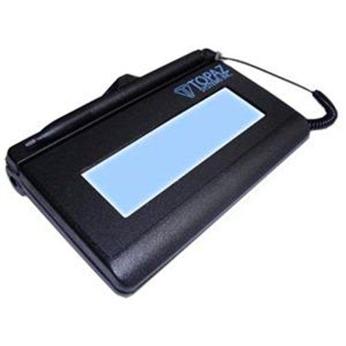 Topaz Systems SignatureGem T-L462 Signature Pad T-LBK462-BSB-R  Topaz Systems SignatureGem T-L462 Signature Pad T-LBK462-BSB-R Signature Pads Backlit LCD Backlit LCD Active Pen  http://www.newofficestore.com/topaz-systems-signaturegem-t-l462-signature-pad-t-lbk462-bsb-r/