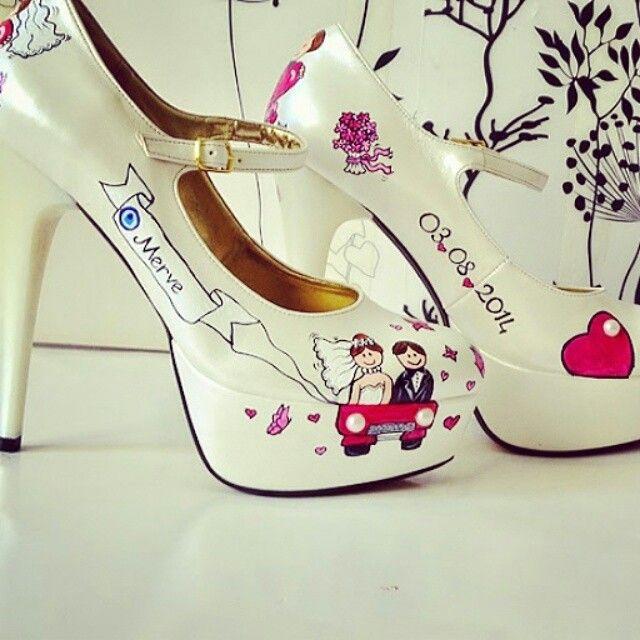 Gelin ayakkabısı #dugunhazirliklari