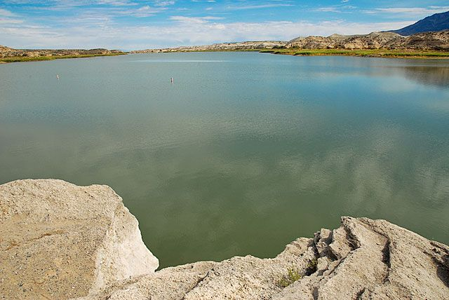 Lovelock NV - Rye Patch State Recreation Area: picnicking, camping, fishing, boating, boat launch