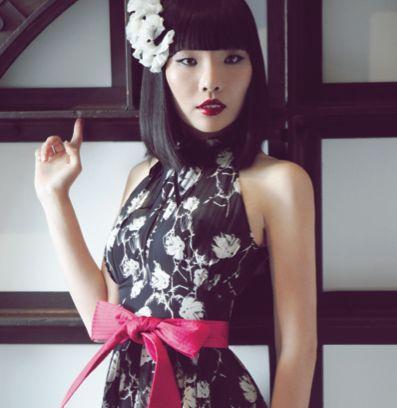 Dami Im modelling for Alannah Hill Fashion
