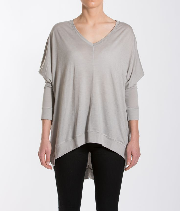 BaseOne Oversized Top Paloma