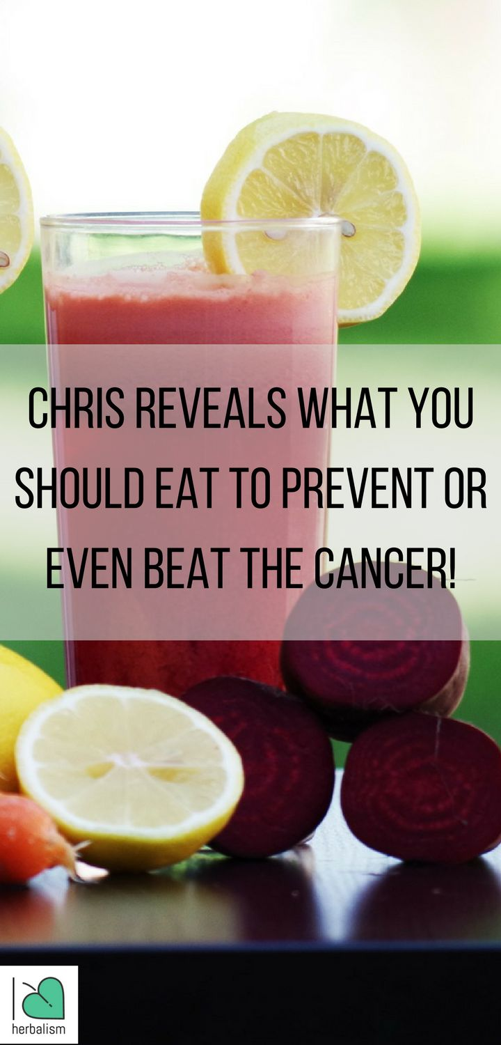 In this video, Chris who beat the cancer reveals amazing tips you should follow.Take a moment to watch this video below and share with someone you care!