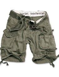 SURPLUS Division Shorts oliv XS-7XL
