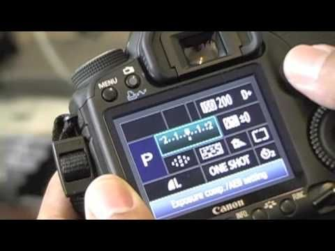 How to set Custom Settings on Canon 50D