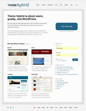 Theme Hybrid hits version 3.0. Read Justin Tadlock's announcement post here...