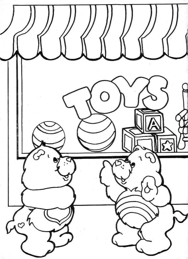 45 best care bears coloring sheets images on Pinterest