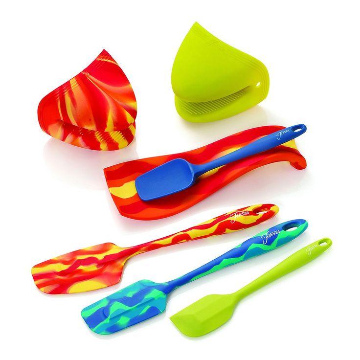 Fiesta 7-pc. Cooking Utensil Set, Multicolor