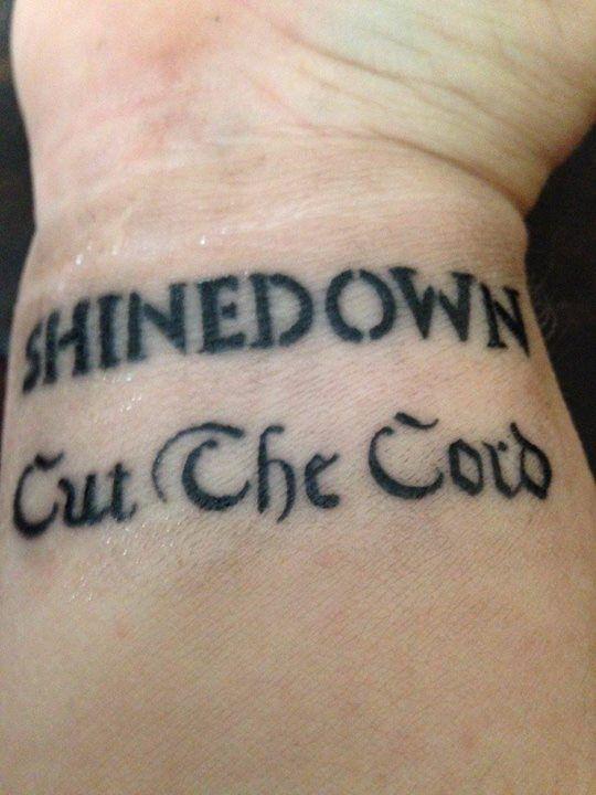 Shinedown Tattoos | Tattoo ideas, Ink and Rose tattoos
