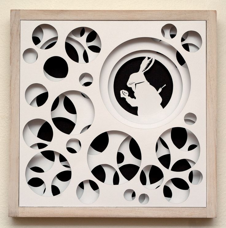 Paper Cut Work - Down the Rabbit Hole