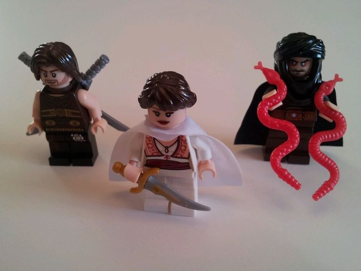 Lot 3x New LEGO Prince of Persia Dastan Tamina Hassanssin Minifigs Figures #LEGO