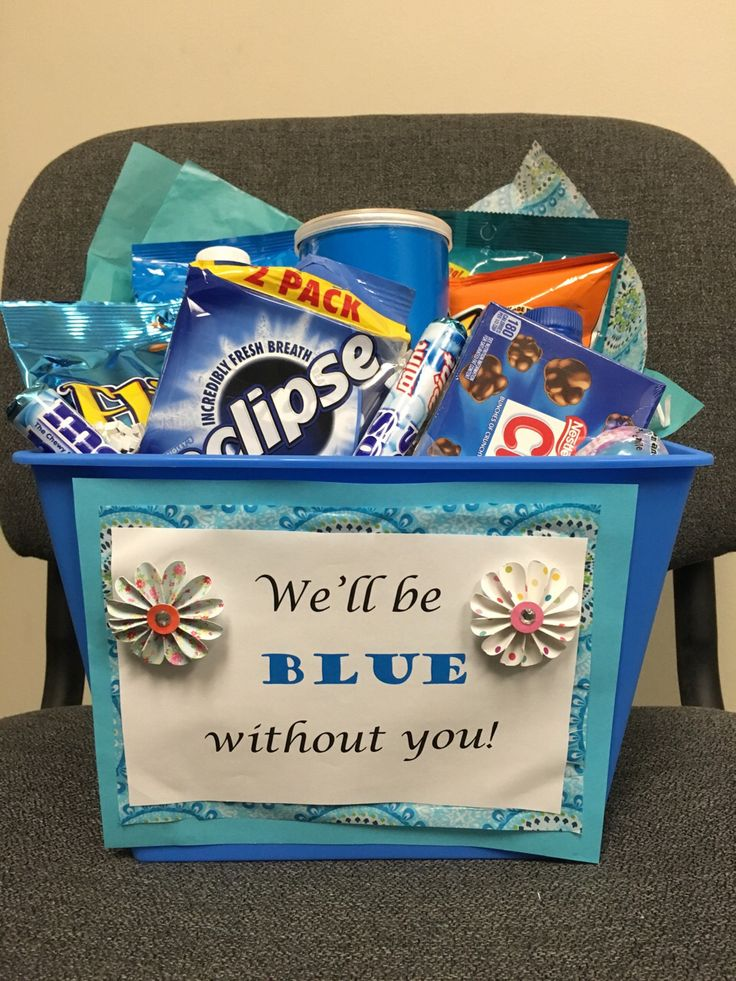 Going away gift for co-worker                                                                                                                                                     More