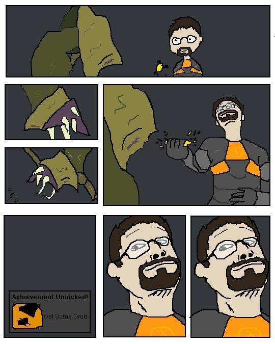 Half-Life funner art
