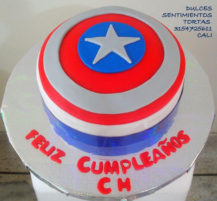 Torta Capitán América Cali Colombia