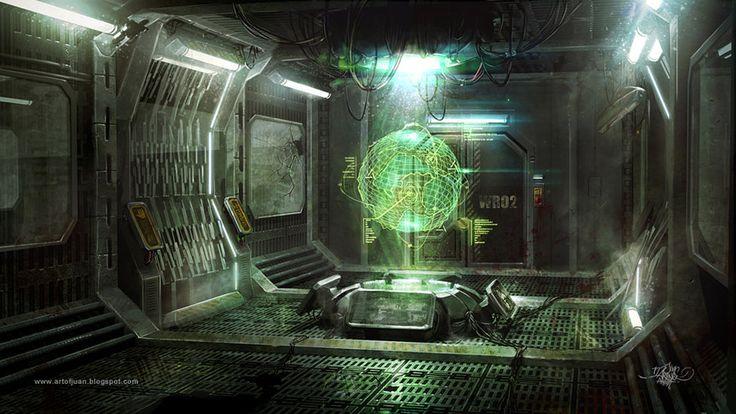 Cyberpunk Atmosphere, Future, Futuristic, Sci-Fi, Tech Environment by ~KaizenDesign on deviantART