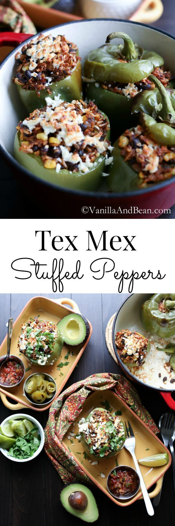 Packed with Mexican spices and nourishing ingredients, this vegetarian recipe is easy to make and is a favorite in our home | Vanilla And Bean