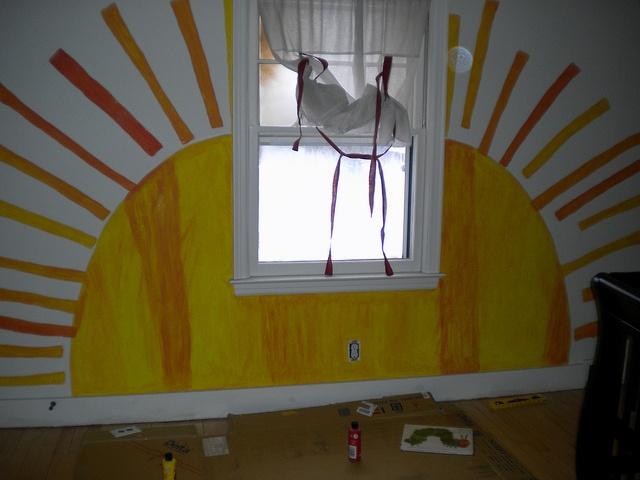 love the idea of an Eric Carle themed nursery or kids room