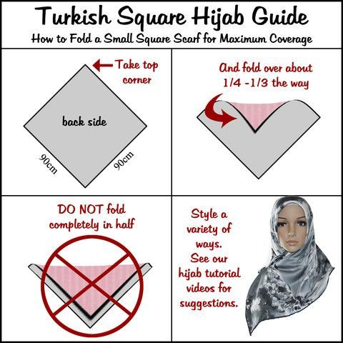 How To Fold A Small Square Scarf For Maximum Coverage myhijab.info/how-to-fold-a-small-square-scarf-for-maximum-coverage/