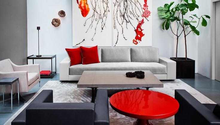 120 best holly hunt showrooms images on pinterest holly for Showroom living room ideas