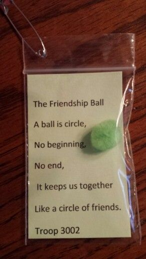 Friendship Ball SWAPS