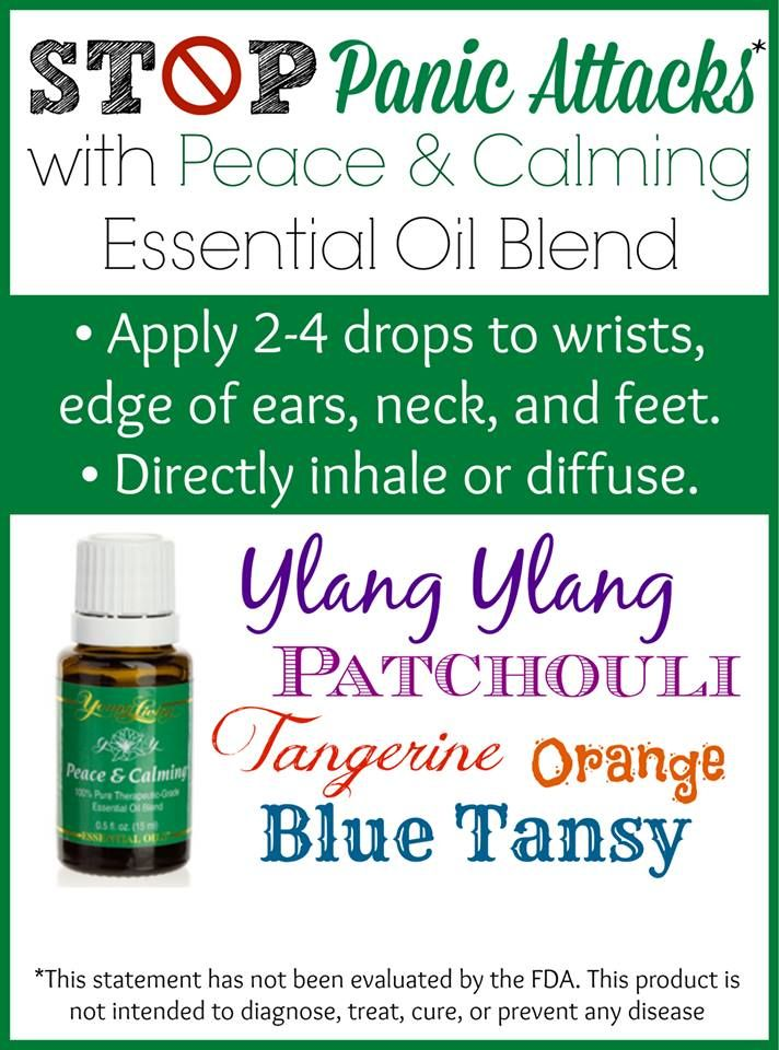 Ways to use Peace & Calming Essential Oil Blend: Stop Panic Attacks and More! #essentialoils #healthyliving