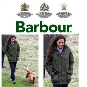 St Andrews lesson #2: When it's raining and you can't tweed, BARBOUR.  (& Wellies!)