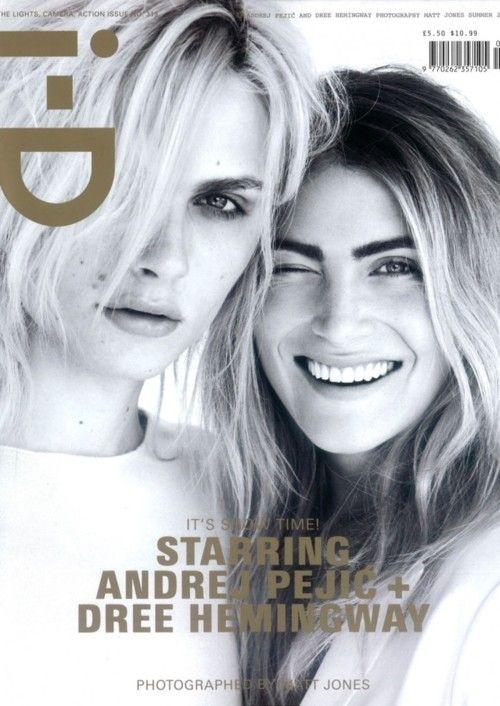 i-D Magazine summer 2012 | Andrej Pejić & Dree Hemingway