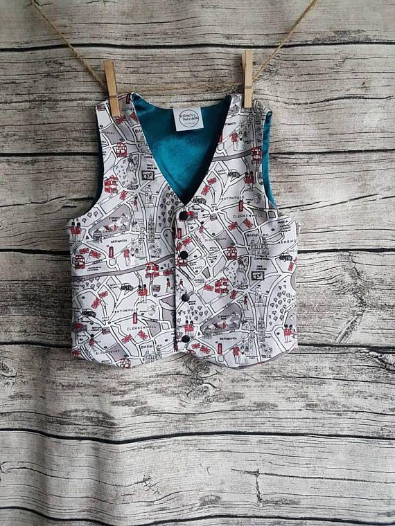 #london #fashion #boysclothing #vest #waistcoat #waistcoatwednesday #uk #londonbus #citymap #maps #designer #distinctlyindividual