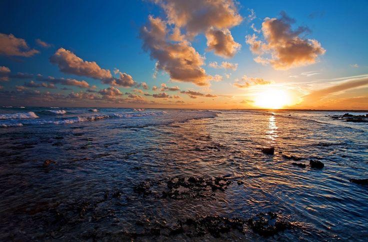 beautiful sea sunset ultra hd backgrounds