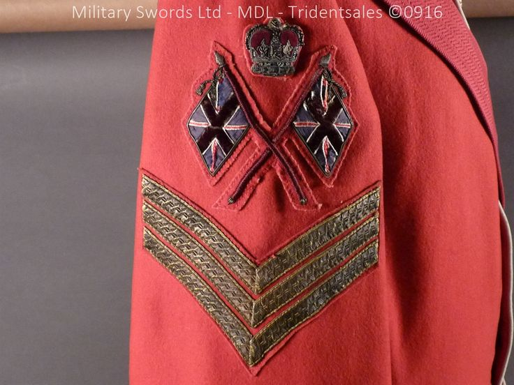 Highland Light Infantry Colour Sergeants Red Tunic and Accessories