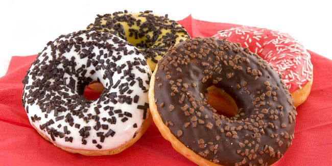 The secret Recipes Donkin Donuts Low Fat and Delicious