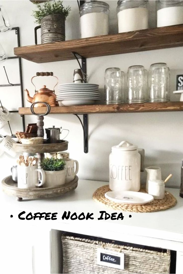 348 besten Coffee Bar Ideas • DIY Home Coffee Bars Bilder auf ...