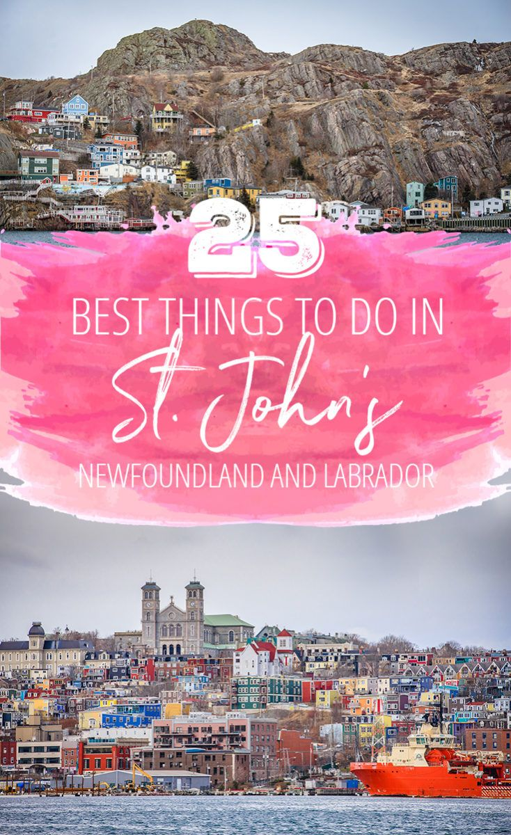 25 Best Things to Do in St. John's, Newfoundland via @suitcaseheels