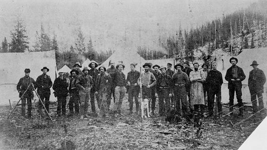 The Canadian Pacific Railway employed more than 3.5 million people. And once the route was operational, business boomed in towns along the route