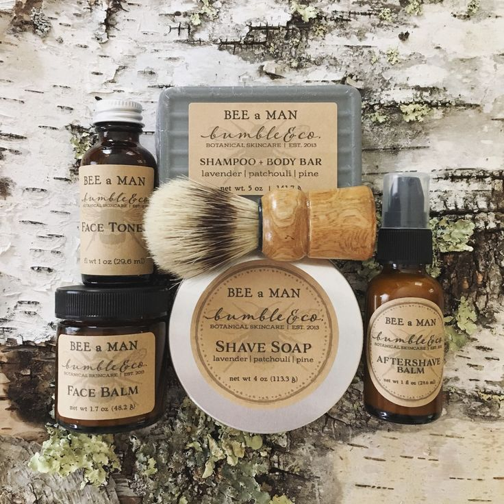 Full-up men's grooming kit from Bumble & Co. ...... the perfect gift for your favorite fabulously well groomed man!