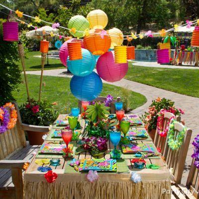 13 Totally Tiki Luau Party Ideas  - Party City