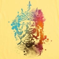 lion... change color to rastafari