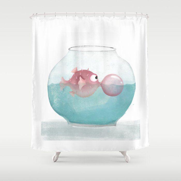 Puffer Fish Shower Curtainpuffer Fish Shower Curtain Stop