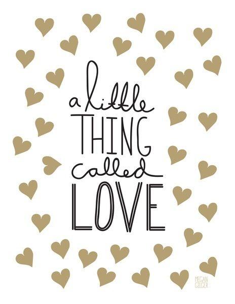 A little thing called love #geboortetekst #Engels