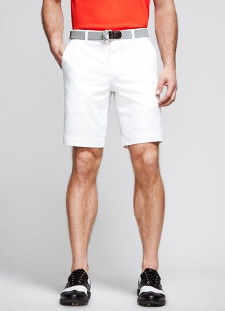 White Golf Shorts | Maide for Bonobos