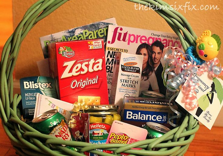 Pregnancy Survival Kit (Mom-to-be Gift Basket) - The Kim Six Fix