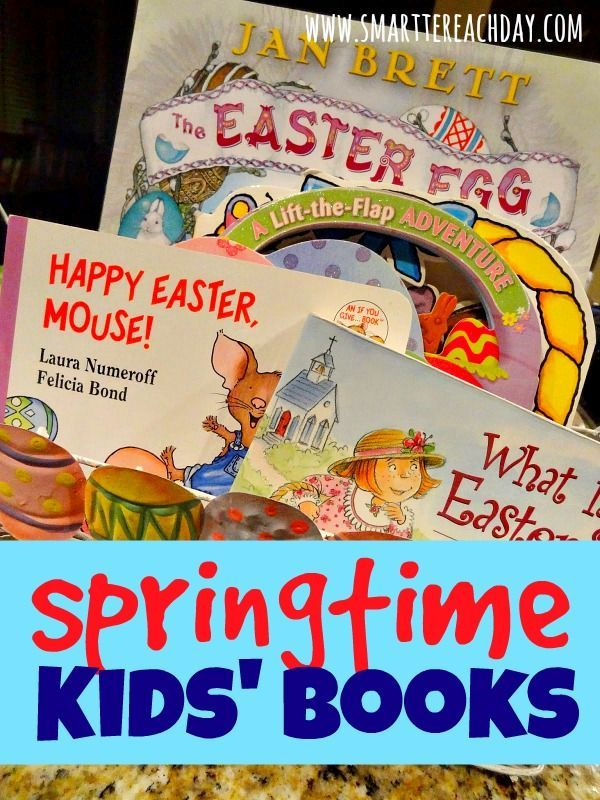 Springtime Books For Kids - Perfect Easter Basket stuffers or Homeschool Units for Spring!