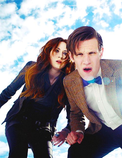 The doctor and amy have found my board...