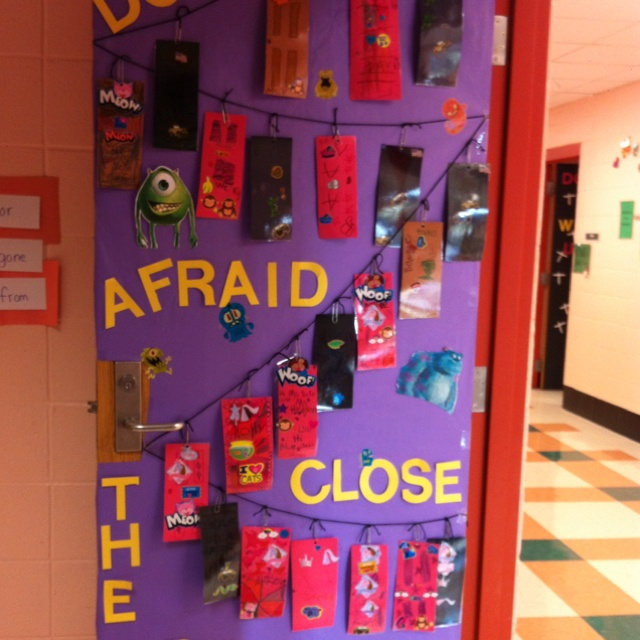 Fall Door Decorating Ideas Math Nuts About Numbers Squirrel